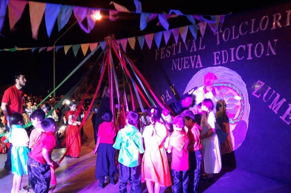 Recuperado. Luego de más de dos décadas sin concretarse, el año pasado el Festival Folclórico Pay Zumé se reeditó con éxito.  Crédito: Gentileza Organización