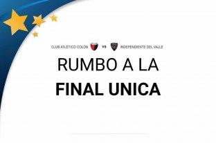 Rumbo a la final Única: qué se puede esperar del partido entre Colón e Independiente del Valle