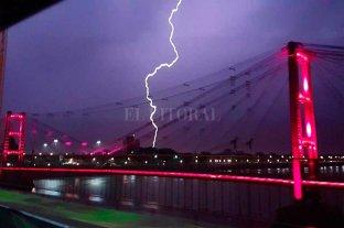 Rige un alerta meteorológico por tormentas fuertes -