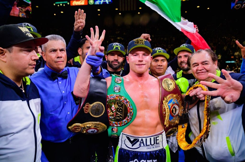 <strong>Foto:</strong> Twitter @Canelo