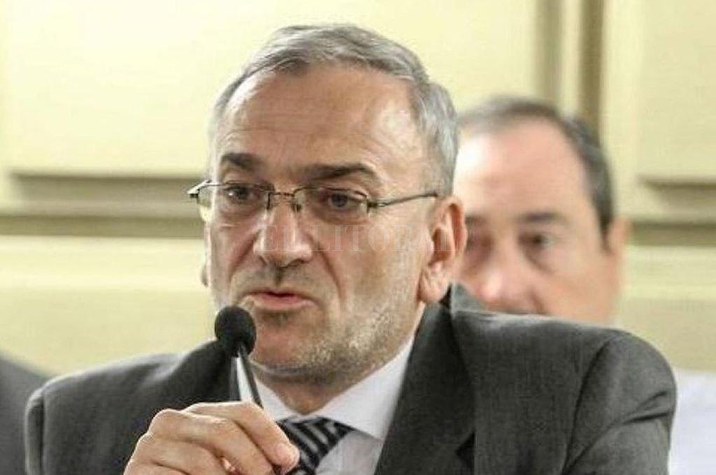 El senador Alcides Calvo.  Crédito: Archivo El Litoral