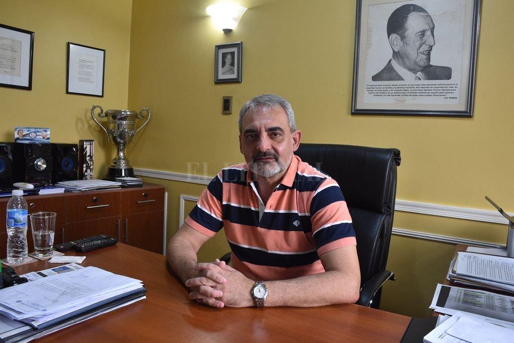 Claudio Girardi, titular de la AB <strong>Foto:</strong> Luis Cetraro