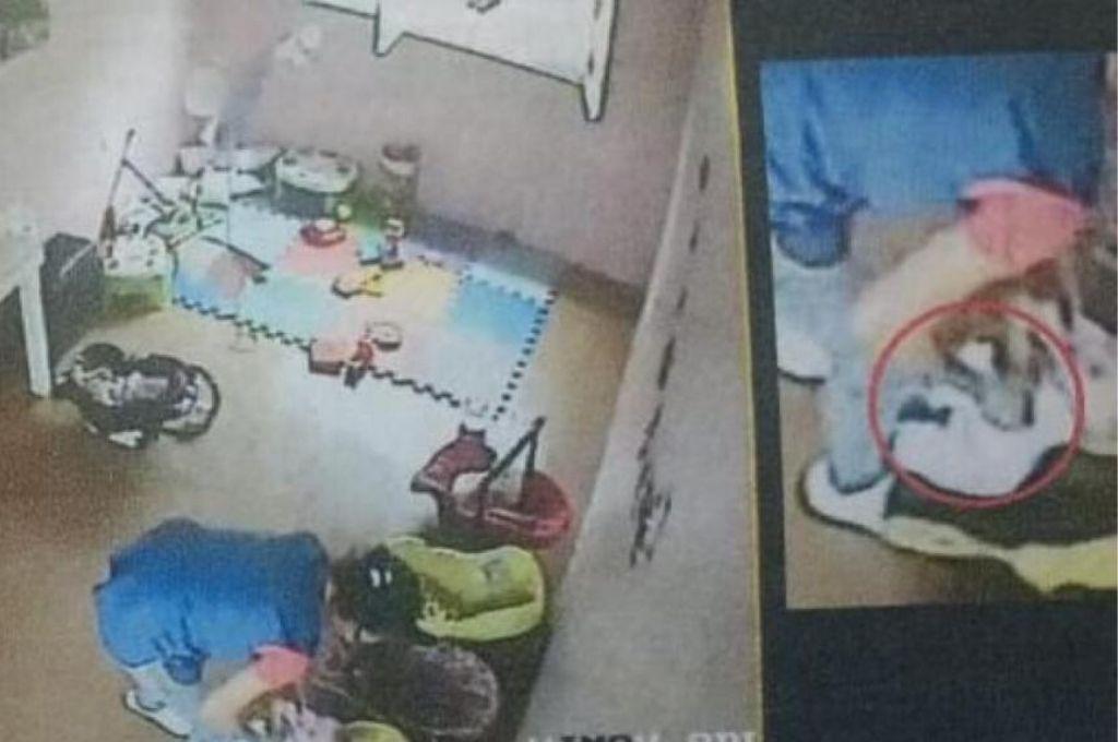 Captura de la cámara de seguridad. <strong>Foto:</strong> Internet y Redes