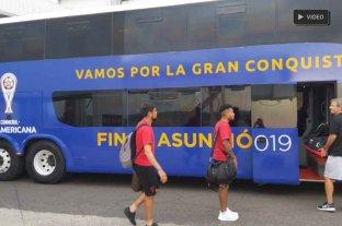 """Con Colón instalado en Asunción, Darrás dijo que vienen por """"la gloria"""""""