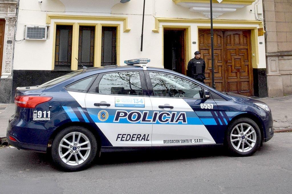 Delegación Santa Fe de la Policía Federal. Crédito: Archivo El Litoral / Guillermo Di Salvatore