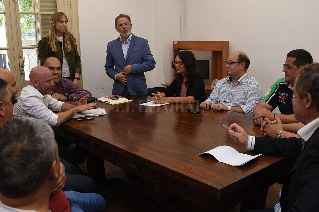 Audiencia realizada en el marco del conflicto con Cliba. <strong>Foto:</strong> Flavio Raina