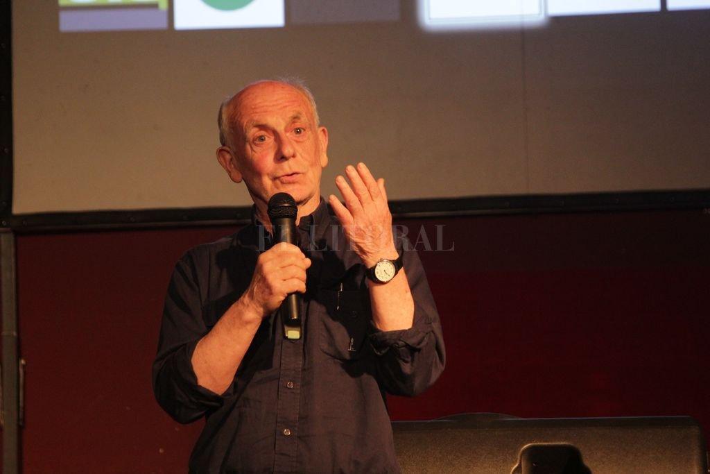 Raúl Beceyro, coordinador del Encuentro. Crédito: Gentileza UNL