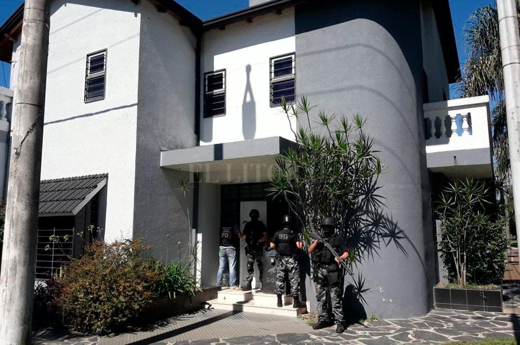 Desde un inmueble en barrio Guadalupe (Echague 6910) se organizaba toda la logística para la distribución y venta <strong>Foto:</strong> Gentileza.