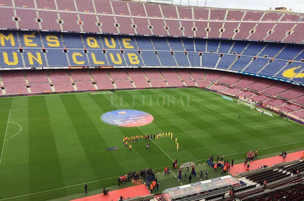 Camp Nou. Crédito: Archivo El Litoral