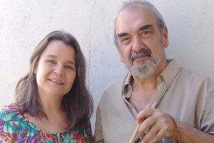 Compartir el canto - Silvina Bosch y Enzo Valls, impulsores del tributo a Leda Valladares que se realizará en Santa Fe. -