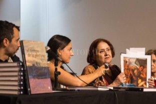 """Un libro que cierra la trilogía sobre el arte y la modernidad en Santa Fe - """"Este es un libro río; con riachos, con desvíos, con encuentros, con distintos colores de las aguas y profundidades"""", dijo la ministra Chiqui González. -"""