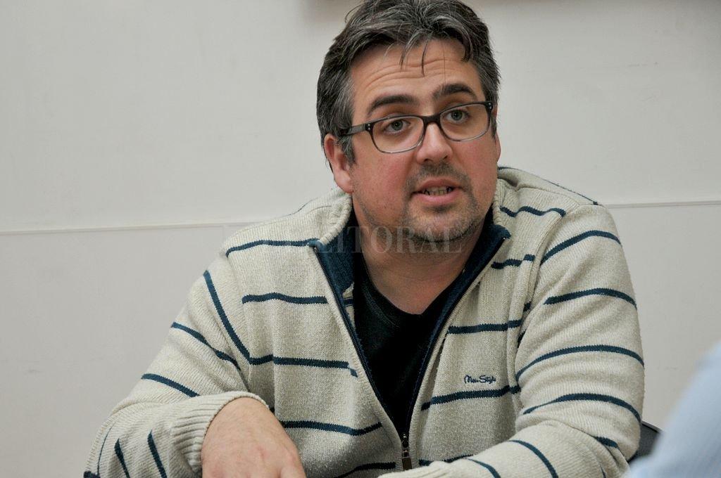 Pablo Cococcioni. <strong>Foto:</strong> Archivo El Litoral
