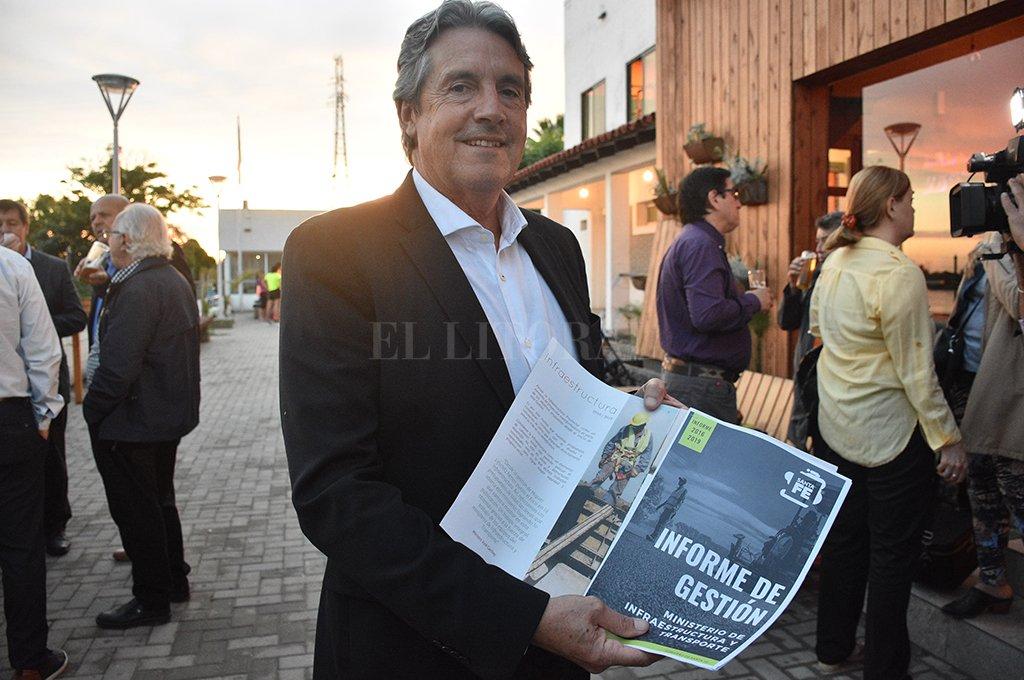 Garibay detalló lo realizado en cuatro años y ahora jurará como diputado provincial. Crédito: Manuel Fabatía