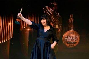 Elizabeth Vernaci ganó el Martín Fierro de Oro de radio