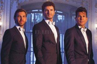 Clásicos y modernos - Federico Picone (barítono), Sebastián Russo (tenor ligero) y Alejandro Falcone (tenor spinto), la alquimia vocal del grupo. -