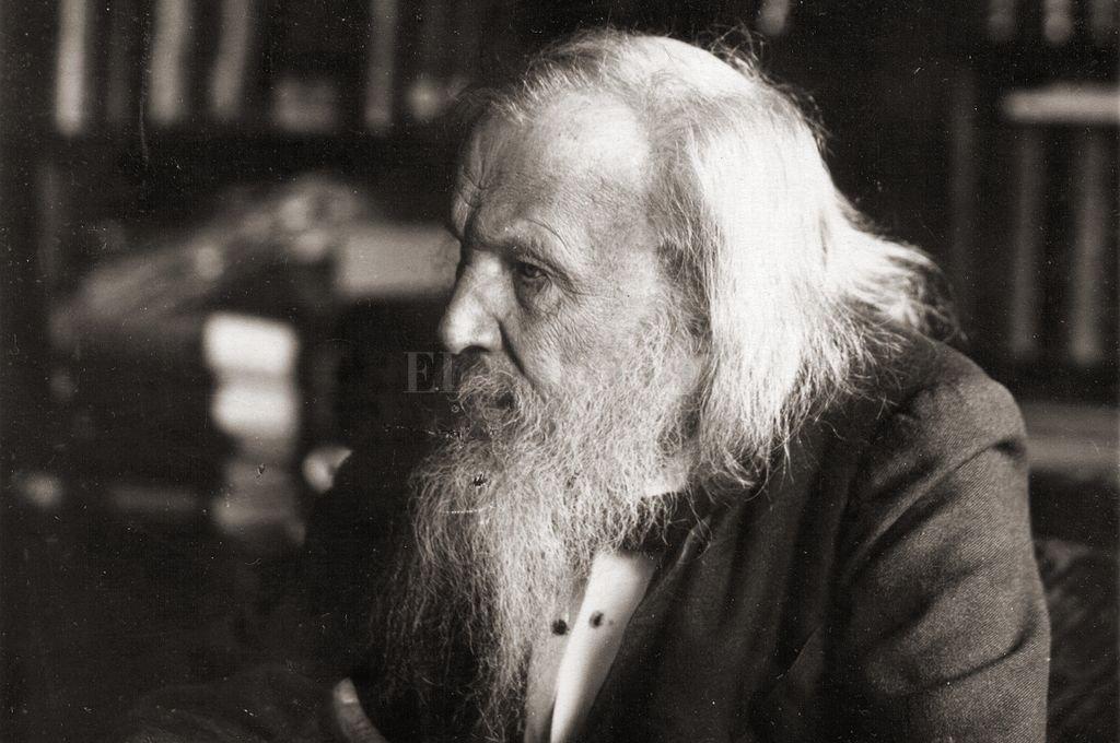 Dimitri Mendeleiev fijó los criterios de la Tabla Periódica para clasificar los elementos.  <strong>Foto:</strong> Archivo