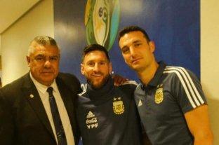 Selección Argentina:  Messi en el gimnasio y Lautaro Martínez en duda