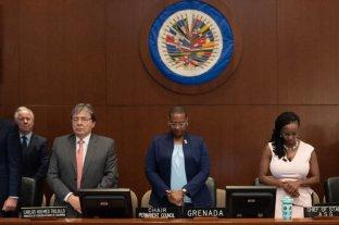 OEA pidió que se asegure el funcionamiento institucional en Bolivia