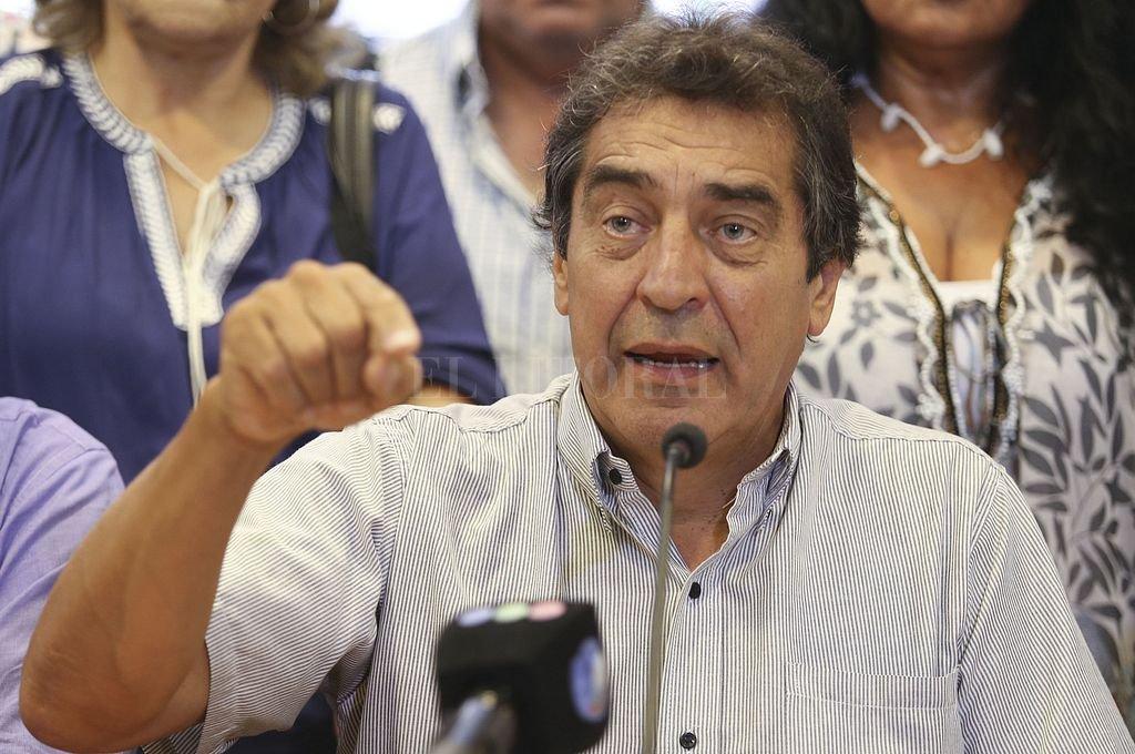 Hugo Godoy, secretario general de la Asociación Trabajadores del Estado (ATE). Crédito: NA