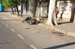 Murió una mujer en Rosario tras ser atropellada por una moto