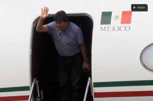 Evo Morales llegó a México -  -