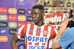 Madelón analiza las duplas - Yeimar Gómez Andrade, un hombre clave en el funcionamiento defensivo que llegó a las cinco amarillas y por eso no estará el 24 en la Bombonera ante Boca. -