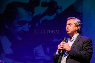 """Alberto Fernández destacó una """"transición en paz y con respeto"""" -  -"""