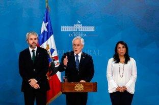 Piñera llamó a buscar tres acuerdos para salir de la crisis: paz, justicia y una nueva Constitución -  -
