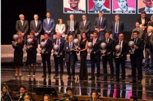 Batistuta y Zanetti fueron incluidos en el salón de la Fama del fútbol