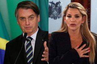 Bolsonaro reconoce a la senadora Áñez como presidenta de Bolivia
