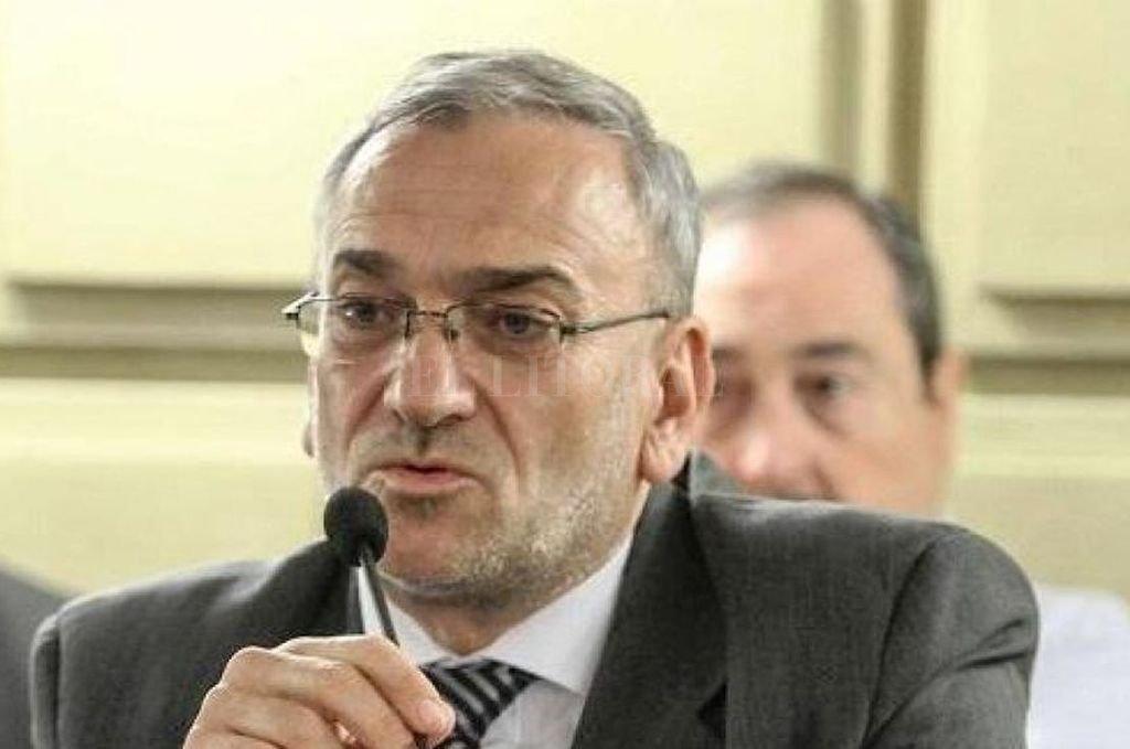 Senador provincial Alcides Calvo (PJ Castellanos).  <strong>Foto:</strong> Guillermo Di Salvatore