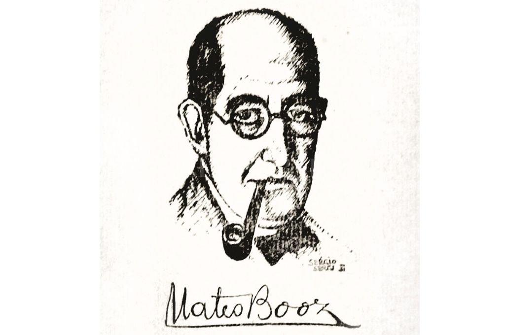 Mateo Booz por Sergio Sergi.  Crédito: Archivo El Litoral