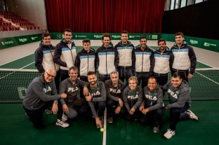 Argentina entrena en Madrid pensando en la Copa Davis