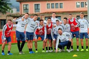 En un clima distendido, Argentina realizó su último entrenamiento