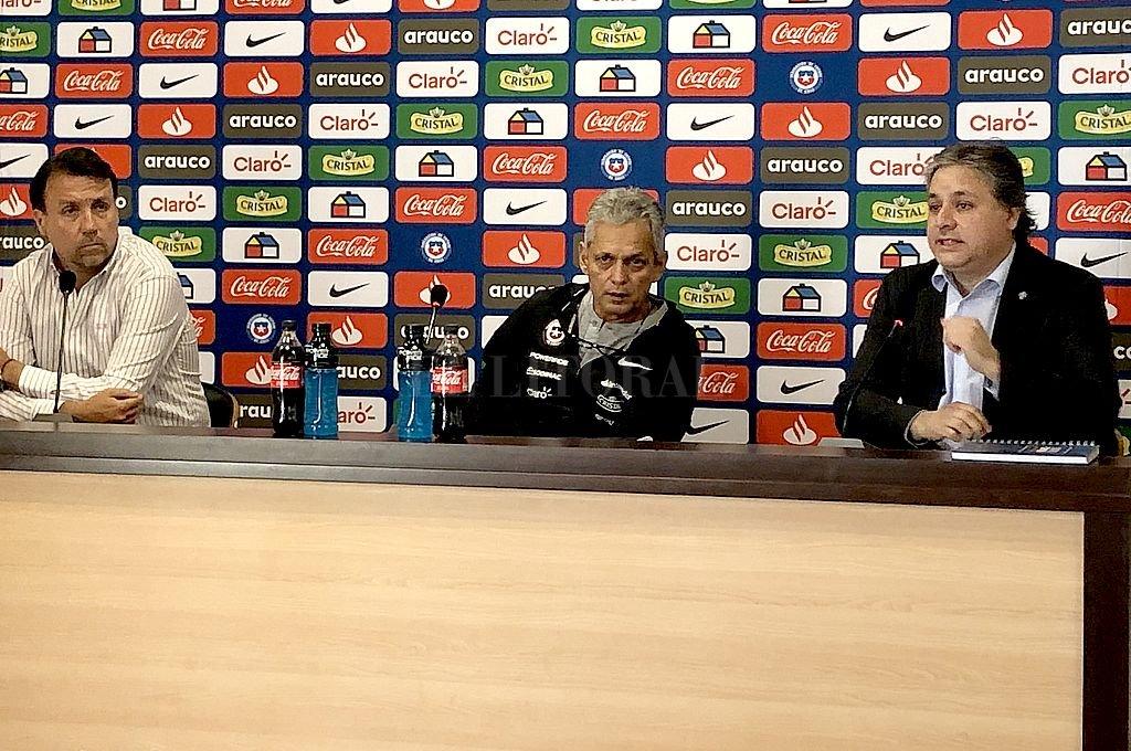 Conferencia de prensa de Reynaldo Rueda Crédito: @LaRoja
