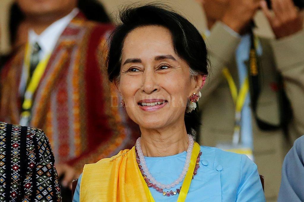 Aung San Suu Kyi. <strong>Foto:</strong> Captura digital