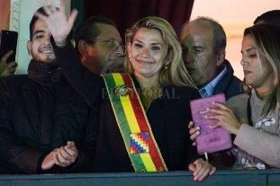 El gobierno argentino no reconoce a Jeanine Áñez como presidenta de Bolivia - Jeanine Añez. -