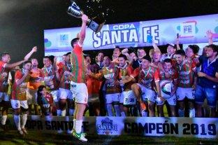 Sportivo Las Parejas se consagró en la Copa Santa Fe