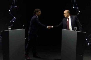 Tenso debate televisivo de los candidatos uruguayos