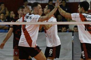 El líder River Plate recibe a PSM por la Liga de Vóleibol Argentina