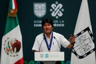 Evo pide diálogo de pacificación a la ONU y al papa Francisco