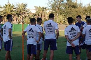 El seleccionado sub 23 de fútbol debuta en el cuadrangular en islas Canarias