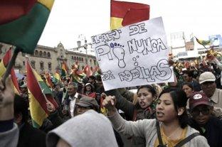 Manifestantes de El Alto denuncian que la policía no informa sobre detenidos