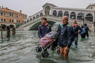 """Italia decreta """"estado de emergencia"""" en Venecia por la inundación"""