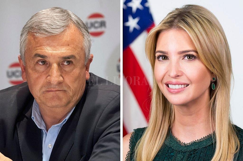 Morales e Ivanka Trump. <strong>Foto:</strong> El Litoral