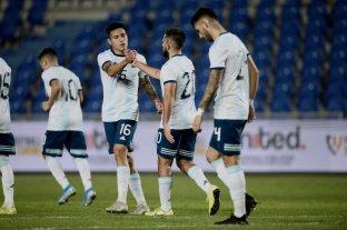 El seleccionado sub 23 le hizo 14 goles a Islas Canarias en un cuadrangular amistoso