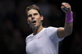 Rafael Nadal cerrará el año como N°1 de la ATP
