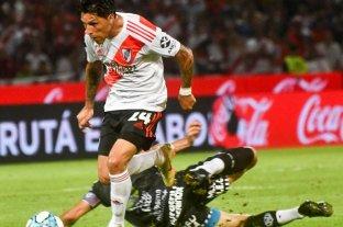 Enzo Pérez sufrió un esguince en el hombro izquierdo