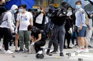 Tras las protestas, muere un hombre en Hong Kong