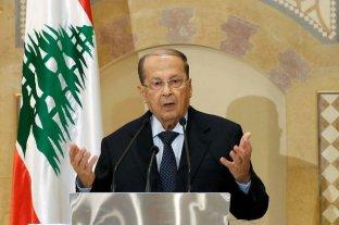 """El presidente de Líbano confía en que haya nuevo gobierno """"en los próximos días"""""""